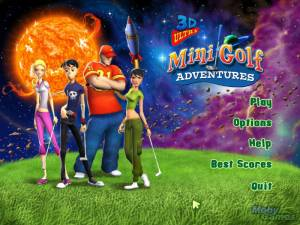 3D Ultra Mini Golf Adventures: Space