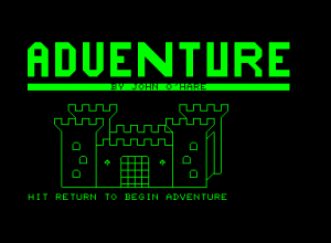 Adventure 1: Cavern of Riches