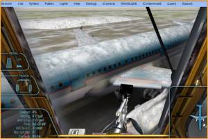 Aircraft De-icing Training Simulator