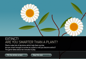 Are you smarter than a plant?
