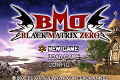 Black/Matrix Zero