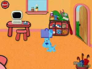 Blue's Clues: Blue's Art Time Activities
