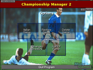 Championship Manager 2: The Italian Leagues Season 96/97