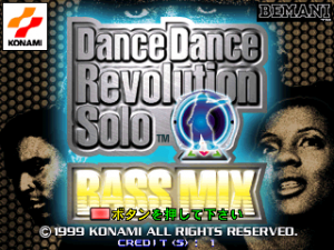Dance Dance Revolution Solo Bass Mix