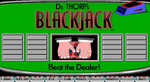 Dr. Thorp's Mini Blackjack