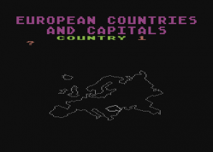 European Countries & Capitals
