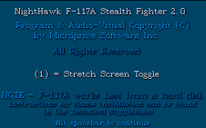 F-117A Nighthawk Stealth Fighter 2.0