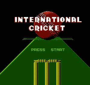 International Cricket