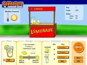GoVenture Lemonade Stand Mobile