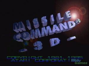 Missile Command 3D