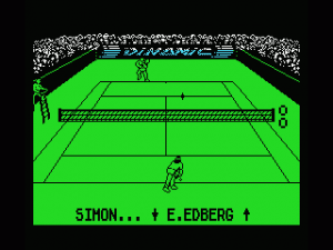 Professional Tennis Simulator