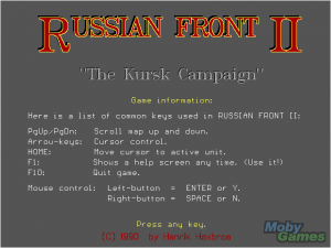 Russian Front II: The Kursk Campaign