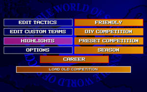 Sensible World of Soccer: European Championship Edition