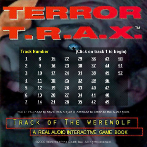 Terror T.R.A.X.: Track of the Werewolf