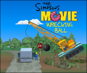 The Simpsons Movie: Wrecking Ball