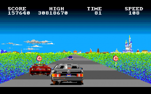 Game Classification : Crazy Cars (1987)