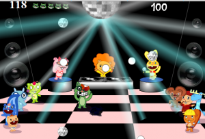 Game Classification : Happy Tree Friends Games: Crazy Disco