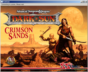 AD&D Dark Sun Online: Crimson Sands